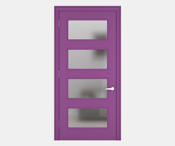 Shadbolt_Delamare_lacquered_panelled_doors_Signal_Violet_RAL_4008