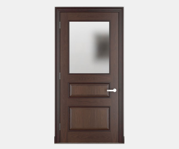 Shadbolt_Kielder_veneered_panelled_doors_with_etched_glass_CC_American_Black_Walnut