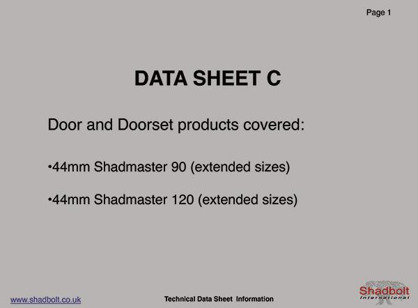 Doorset-Datasheet-C