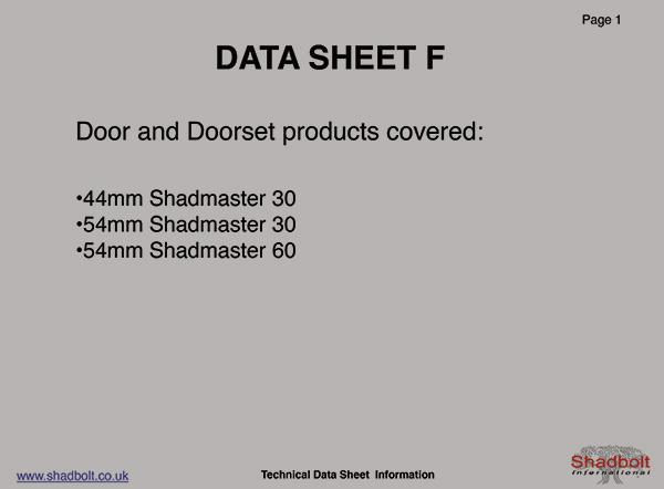 Doorset-Datasheet-F